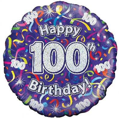 Birthday Balloons 30 100 Years Old 163 9 95 Free Uk Delivery