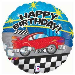 Birthday Car Foil Balloon