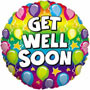 Get Well Soon Balloon Small Image