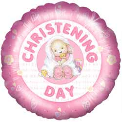 Christening Day Girl Balloon
