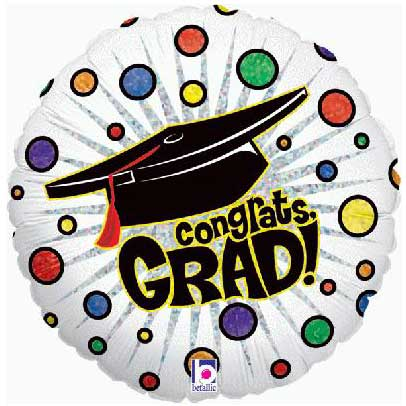 Balloons Graduation Foil Balloon
