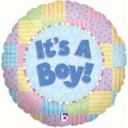 It*s a Boy Baby Balloon