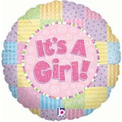 It's a Girl Baby Balloon