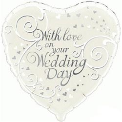 With Love Wedding Balloon