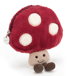 Amuseable Mushroom Pouch