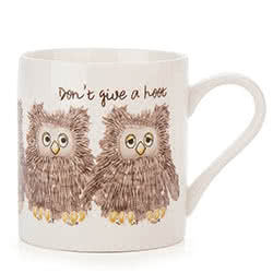 Dont Give A Hoot Mug