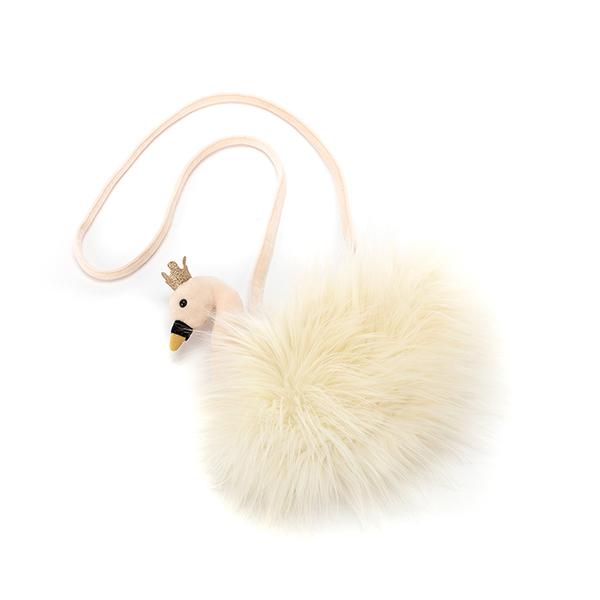 Jellycat Fancy Swan Bag 163 21 65
