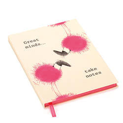 Flaunt Your Feathers Great Minds A5 Note Book