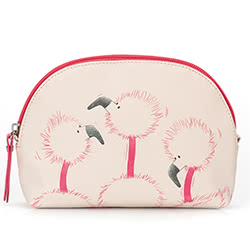 Flaunt Your Feathers Curved Small Bag