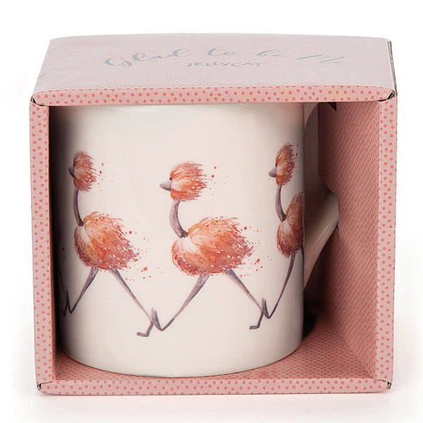 Jellycat Glad To Be Me Pink Mug