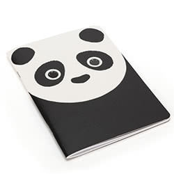 Kutie Pops Panda A5 Notebook