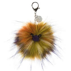 Spiced Pompom Bag Charm