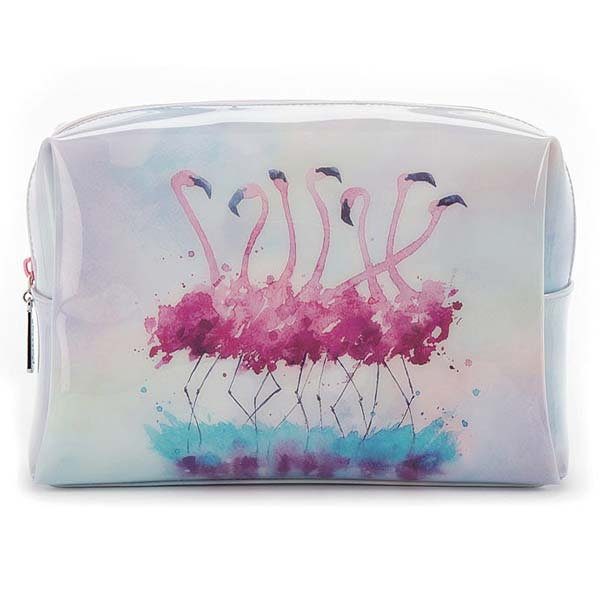 Catseye Flamingo Large Beauty Bag