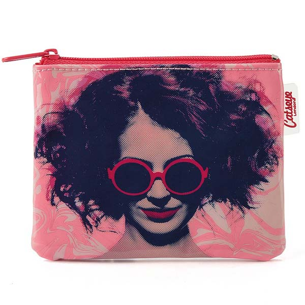 Catseye London Girl in Glasses Coin Purse
