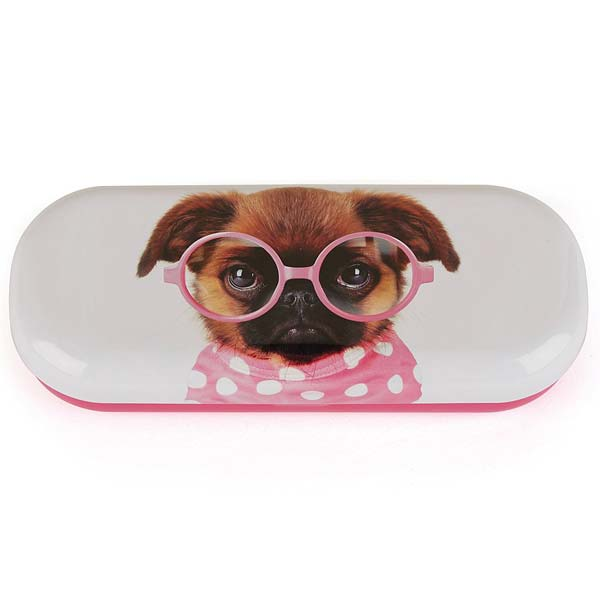 Catseye Glasses Pooch Glasses Case