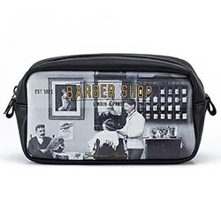 Barber Shop Small Wash Bag