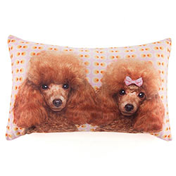 Poodle Love Cushion