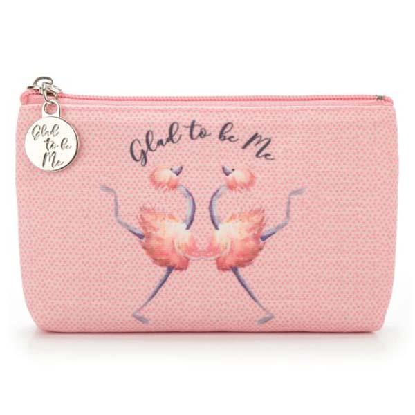 Jellycat Glad To Be Me Small Pink Pouch