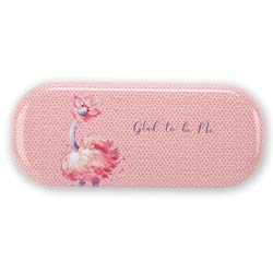 Glad To Be Me Pink Glasses Case