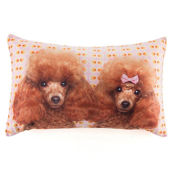 Jellycat Poodle Love Cushion