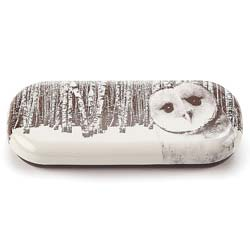 Owl in Woods Glasses Case