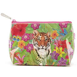 Tiger Lily Make-Up Bag