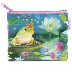 Frog Prince Coin Zip Purse
