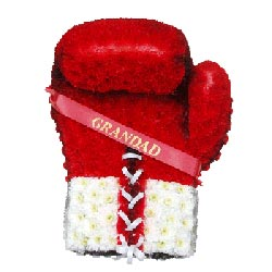 Bespoke Boxing Glove Tribute