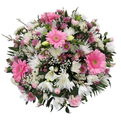 Funeral Flowers Delicate Baby Girl Tribute