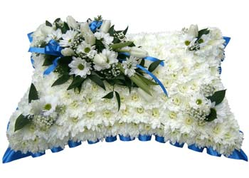 Funeral Pillow Royal Blue