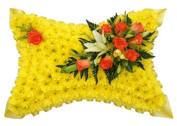 Funeral Pillow Yellow Base