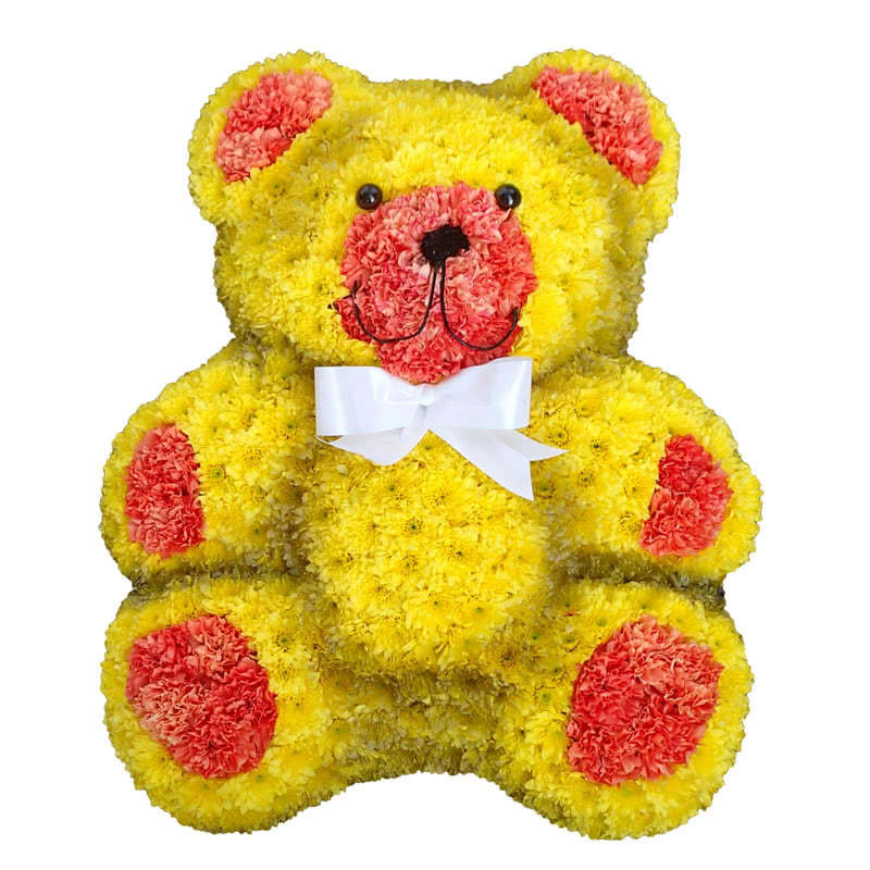 Funeral Flowers Speciality Teddy Bear