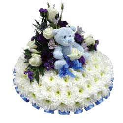 Funeral Posy Pad Baby Boy