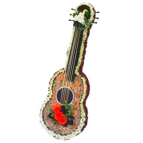 Funeral Flowers Speciality Guitar Tribute