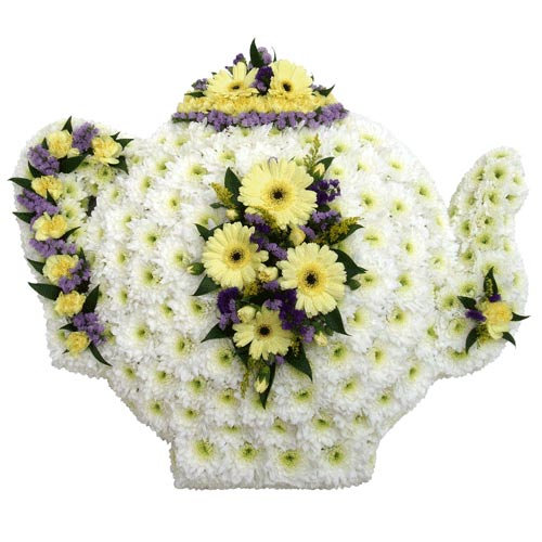 Funeral Flowers Funeral Speciality Tea Pot Tribute