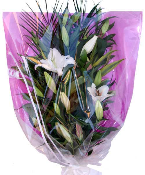 Funeral Flowers Lily Funeral Bouquet