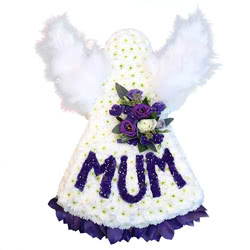 MUM Angel Flower Tribute