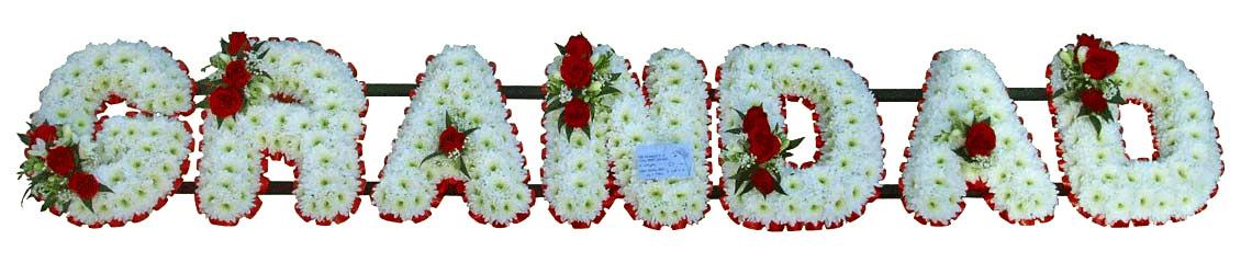 Grandad Grandpa Gramps Pops Papa Funeral Flowers Tributes