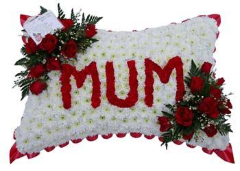 Funeral Flower Pillows from 30