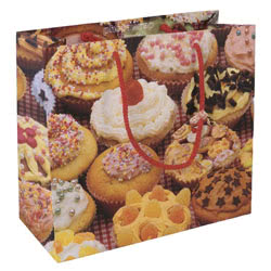 Cup Cakes Large Gift Bag
