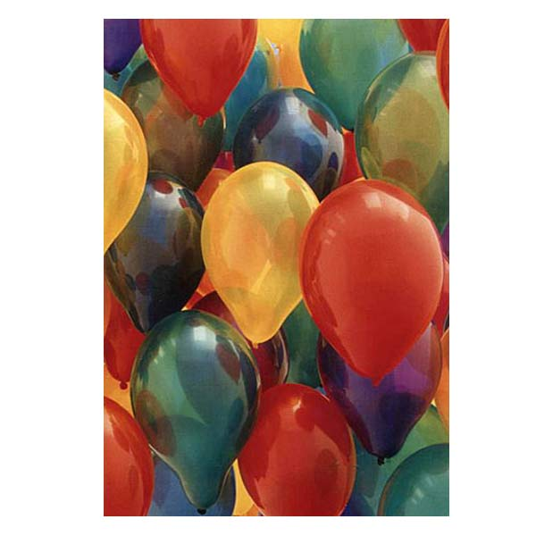 Photowrap Balloons Greeting Card