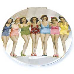 Bathing Belles Clam Mirror