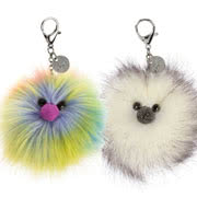 Bag Charms including Pompoms and Amuseables