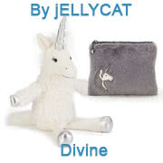 The Jellycat Divine Unicorn collection