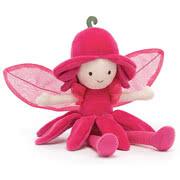 Jellycat Fairies including Fleur Fairy Daffodil, Dahlia and Delphinium