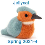 Jellycat new soft toy designs for Spring 2021 - page four - with UK and USA delivery
