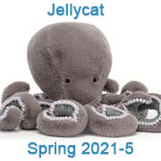 Jellycat new soft toy designs for Spring 2021 - page five - with UK and USA delivery