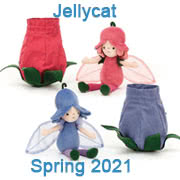Jellycat new soft toy designs for Spring 2021 coming with UK and USA delivery