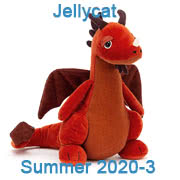 Jellycat new soft toy designs for Summer 2020 - page three - coming with UK and USA delivery