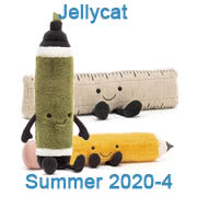 Jellycat new soft toy designs for Summer 2020 - page four - coming with UK and USA delivery